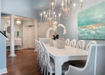 dining room in unit